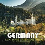 Germany Mini Wall Calendar 2018: 16 Month Calendar