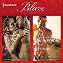 One Sizzling Night & A SEAL's Touch Audiobook by Jo Leigh, Tawny Weber Narrated by Abby Craden, Alexander Cendese