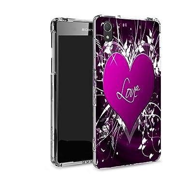 Phoenix Gran Look funda carcasa para Sony Xperia Z2 Purple ...