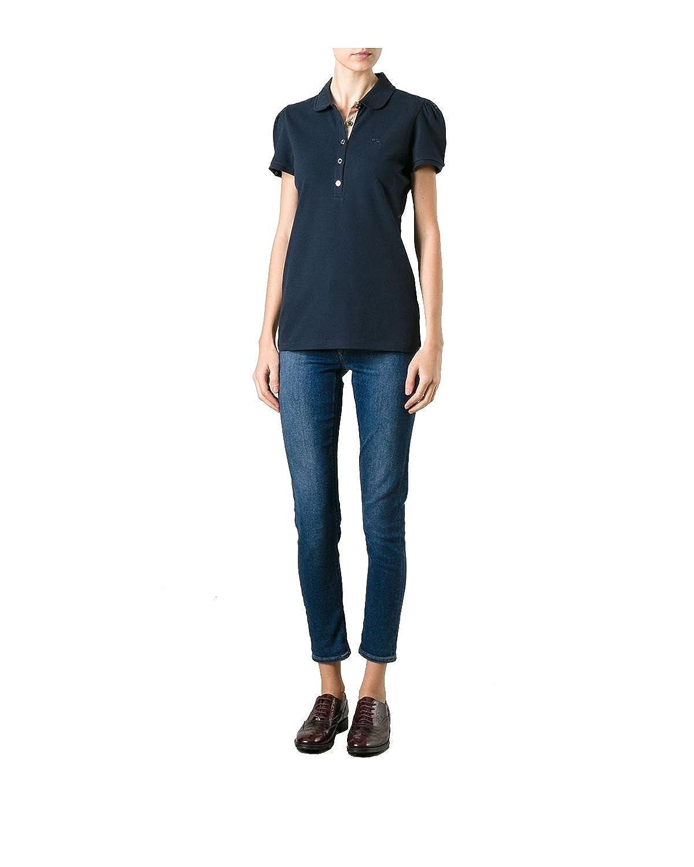 109eb8c6f858 BURBERRY - Polo pour Femme YSM70254 - noir, XS  Amazon.fr  Vêtements et  accessoires