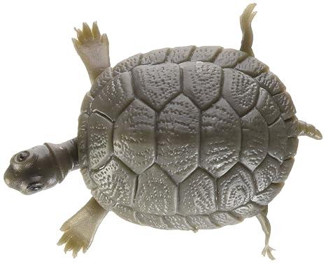 Sourcingmap Plástico Tortuga Acuario Decorativo Adorno Pecera Decoración, 2 Pieza
