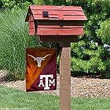 Texas vs. Texas A&M House Divided Garden Flag