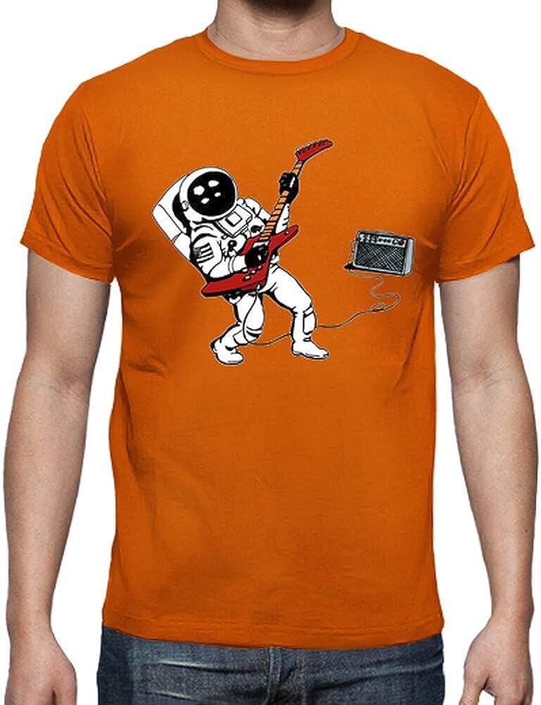 latostadora - Camiseta Astro Rock Negra para Hombre: Amazon.es: Ropa y accesorios