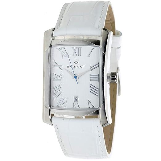 Radiant Ra-69602 Reloj Analogico para Mujer Colección Miss Caja De Acero Inoxidable Esfera Color Plateado: Amazon.es: Relojes