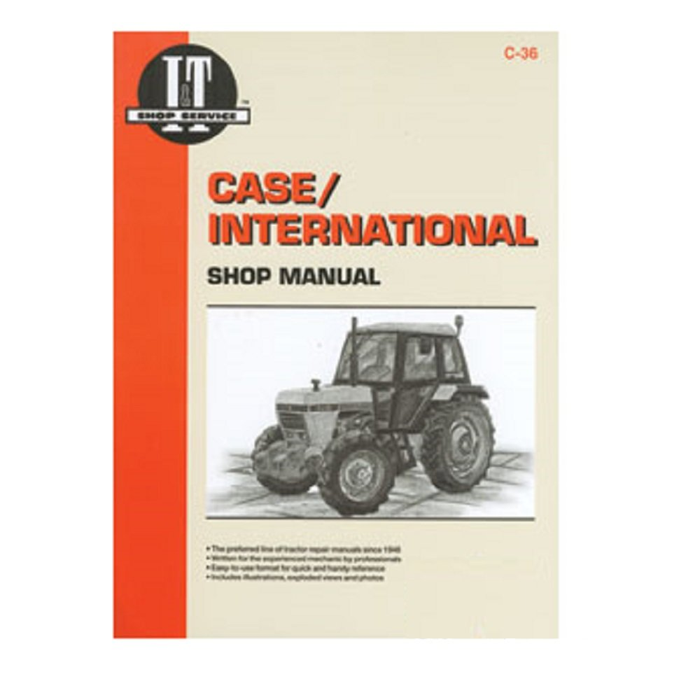 Amazon.com: I&T Shop Manual C-42 for Case/International Case IH