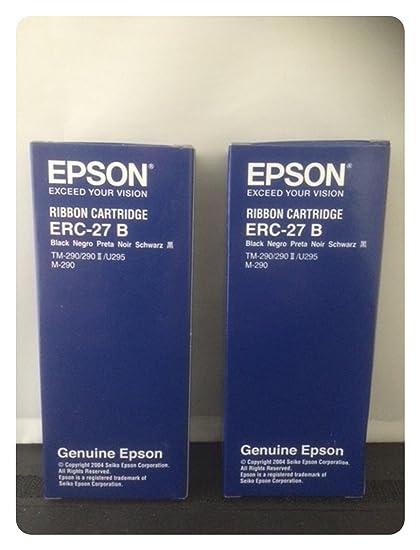 EPSON ERC-27 B - Cinta de impresión negra para TM-U290,TM-U290II ...