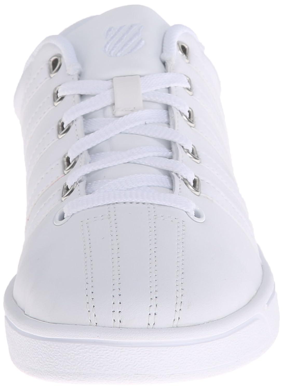 K-Swiss Shoe Women's Court Pro II CMF Athletic Shoe K-Swiss B0115HP6C8 5 B(M) US|White/Silver a8117b