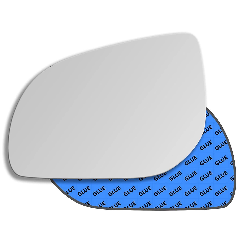 Hightecpl 553LS Left Passenger Side Convex Door Wing Mirror Glass Channel Autoparts Limited