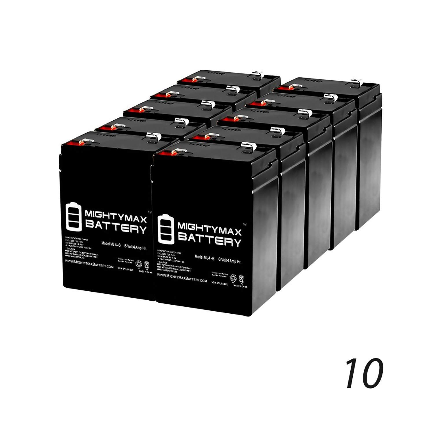 Mighty Max Battery 6V 4.5AH SLA Battery Replaces Power Patrol SLA0905, SLA090-10 Pack Brand Product by Mighty Max Battery (Image #1)