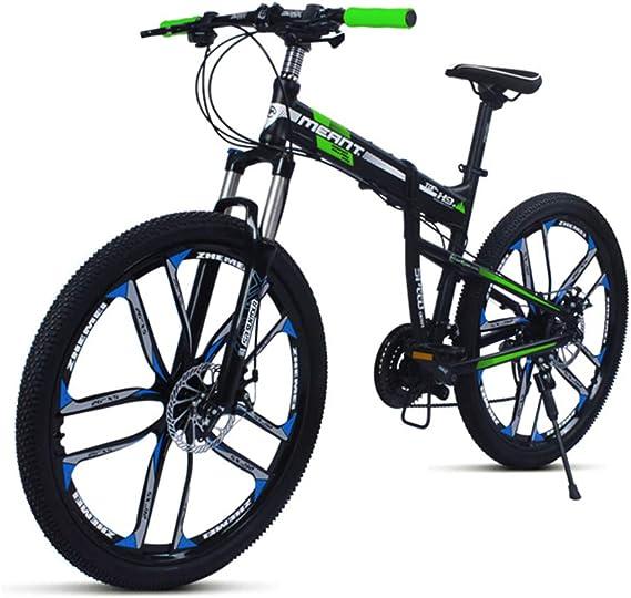 Dapang Bicicleta de montaña Negro/Azul, Cuadro de aleación de ...
