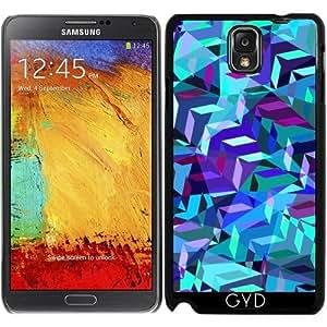 Funda para Samsung Galaxy Note 3 (GT-N9500) - Patrón Geométrico by Luizavictorya72