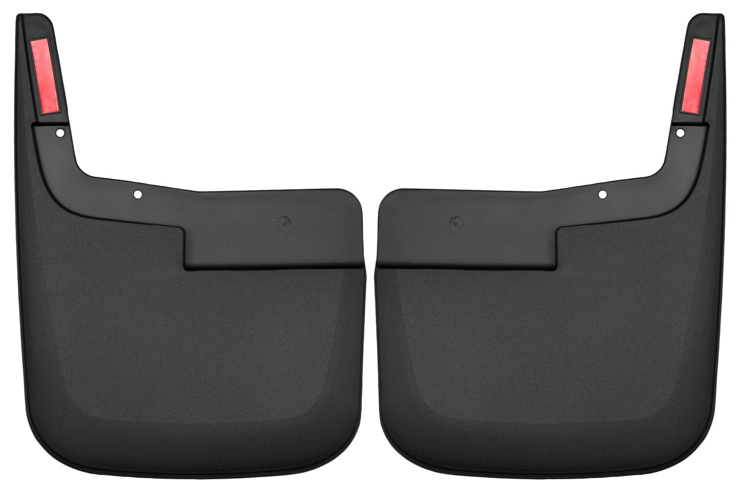 Husky Liners 58441 Black Fits 2015-19 Ford F-150-without OEM Fender Flares Custom Front Mud Guards by Husky Liners