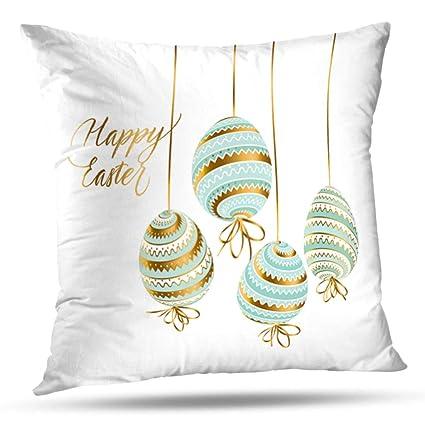 Amazon.com: HAPPYOME Decorative Throw Pillow Covers Elegant ...