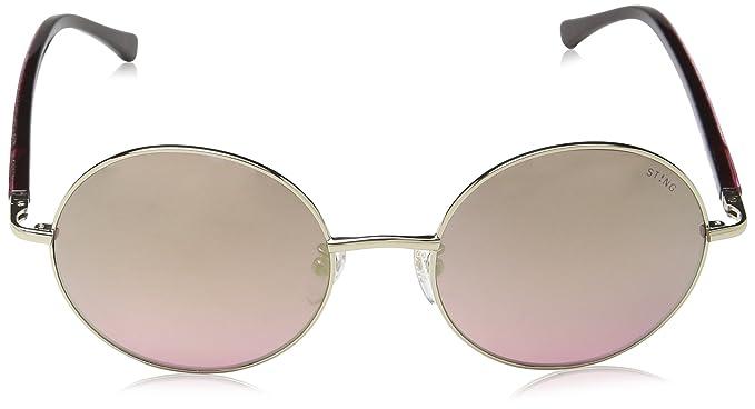 Sting Ss4878V, gafas de sol para Mujer, Morado (SHINY LIGHT ...