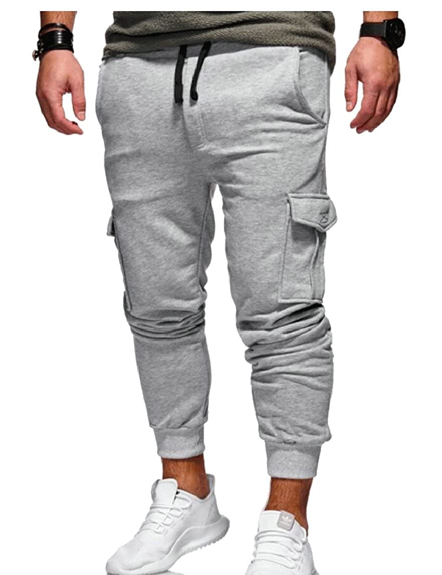 omniscient Men Cargo Pant Multi-Pockets Outdoor Military Pants