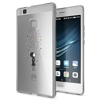 NALIA Funda Carcasa para Huawei P9 Lite, Protectora Movil TPU ...