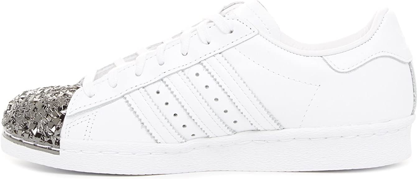 delincuencia telescopio fragmento  adidas Originals Superstar 80s Metal Toe TF White Men Trainers Sneaker  Shoes: Amazon.co.uk: Shoes & Bags