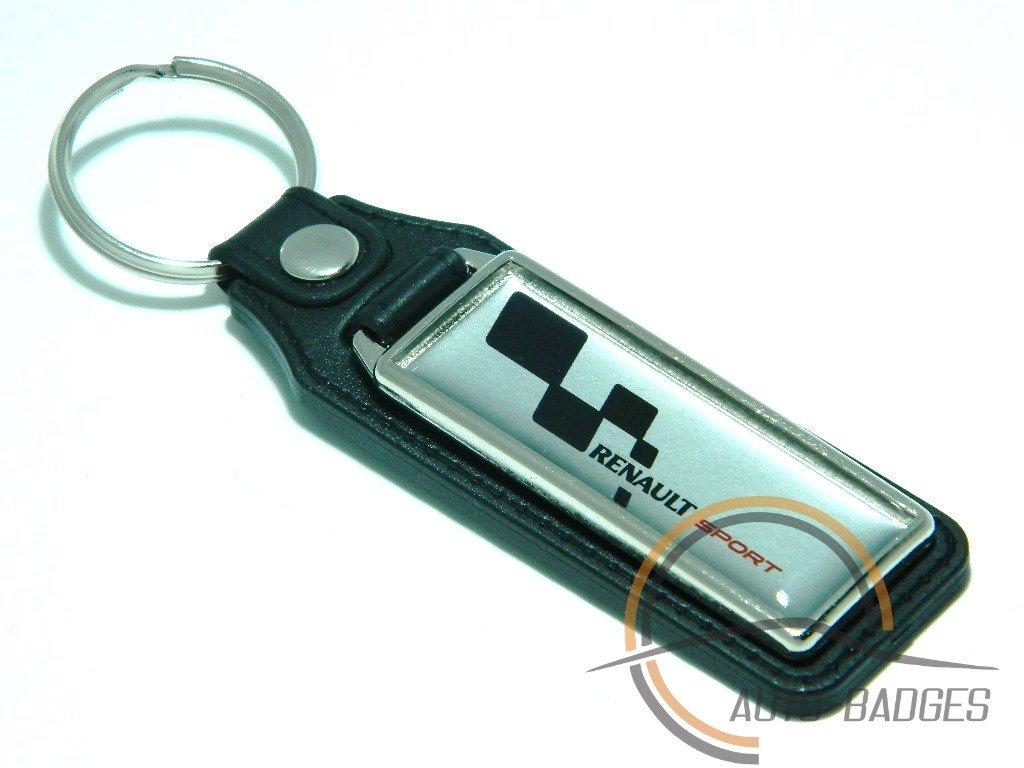 Porte-clés avec anneau Renault Sport
