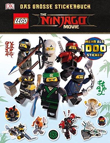 THE LEGO NINJAGO MOVIE Das große Stickerbuch