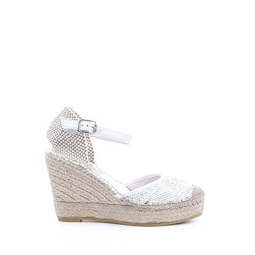 Vidorreta - Alpargatas para Mujer Blanco Size: 36: Amazon.es: Zapatos y complementos