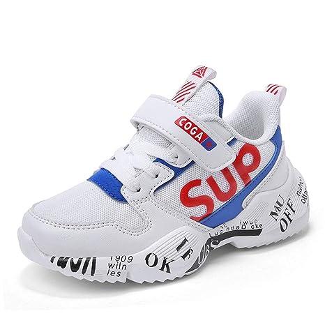 Zapatillas de Deporte para niños Zapatillas de Deporte para niños Zapatos para Correr para Correr Recorte Transpirable Zapatos para Caminar al Aire Libre Casuales Trekking Running Zapatos: Amazon.es: Hogar