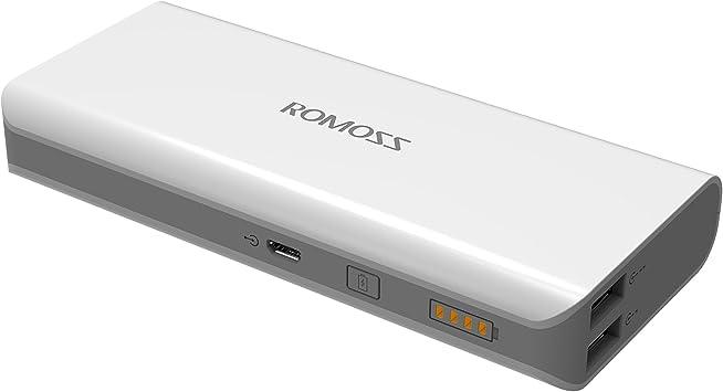 ROMOSS Solo5 10000mah Dual USB cargador externo portátil batería ...