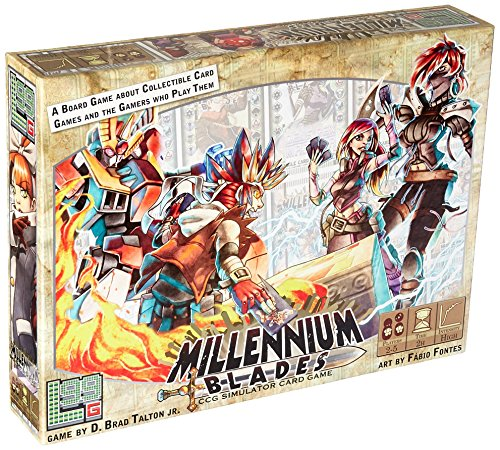 Millennium Blades Board Game by Level 99 Games