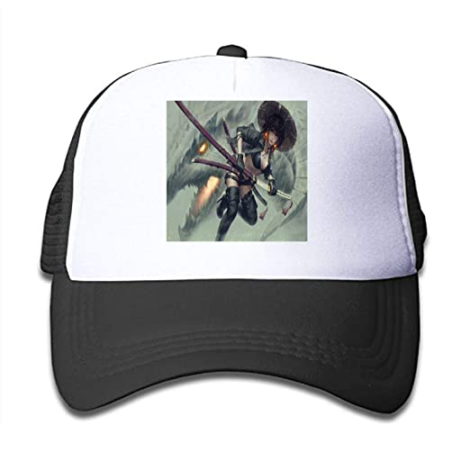 Image Unavailable. Image not available for. Color  Youth Fantasy Women  Warrior Katana Sword Hat ... 821cc216d