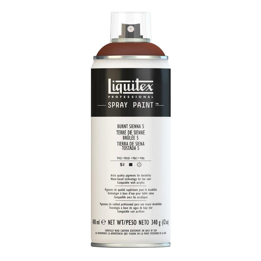 Liquitex プロフェッショナル スプレーペイント 12オンス 400ml Can ブラウン 4455127 B008N7H618 Burnt Sienna 5 Burnt Sienna 5