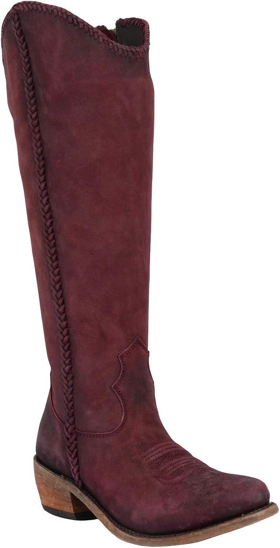 Vegas Tinto Tall Boot Round Toe