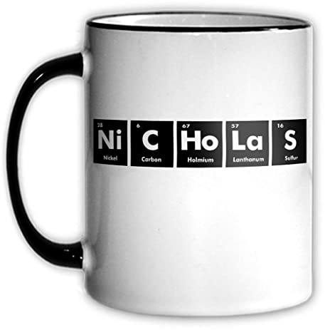 Amazon Nicholas Periodic Table Coffee Tea Mug With Chemical