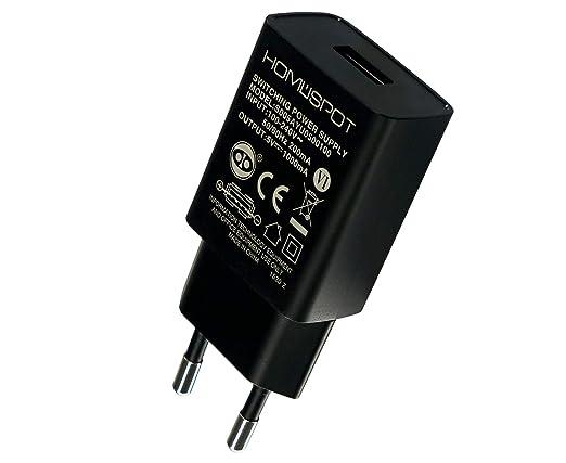 Homespot compacto universal USB cargador / adaptador / 5V1A ...