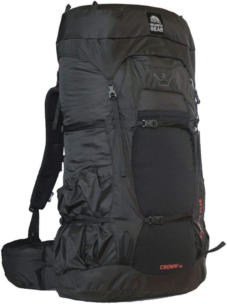 Granite Gear Crown2 60L Backpack 2019 - Women's Black/Red Rock Regular