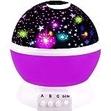 Friday Nacht Licht Mond Sterne Rotierenden Projektor für Kinder Babys - Beste Geschenke