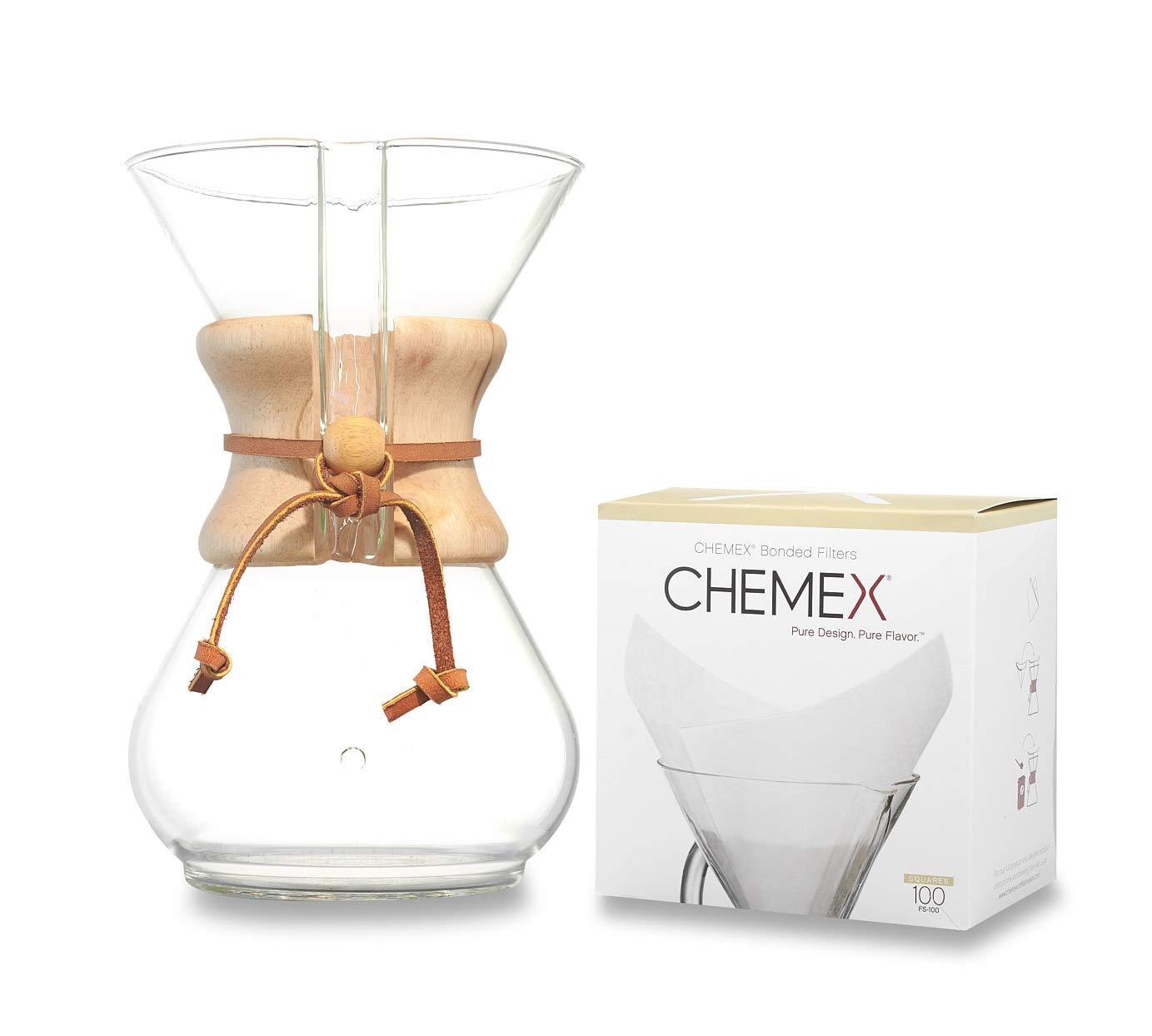 El Globo caf/é /& mucho m/ás Cafetera CHEMEX con Capacidad para 6 Tazas