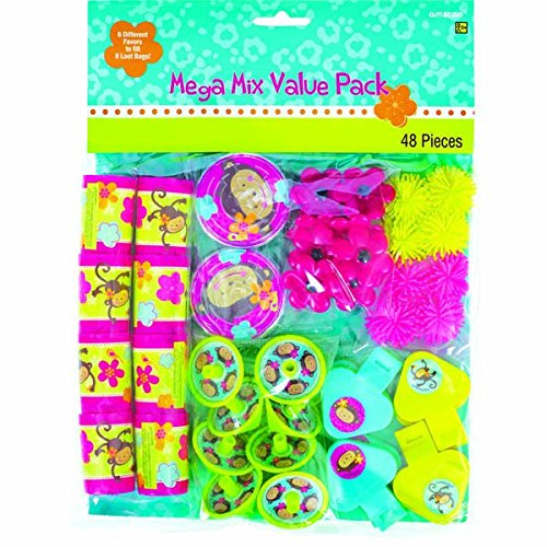 48 Piece Favor Pack   Monkey Love Collection
