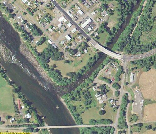 Douglas County Oregon Aerial Photography on DVD