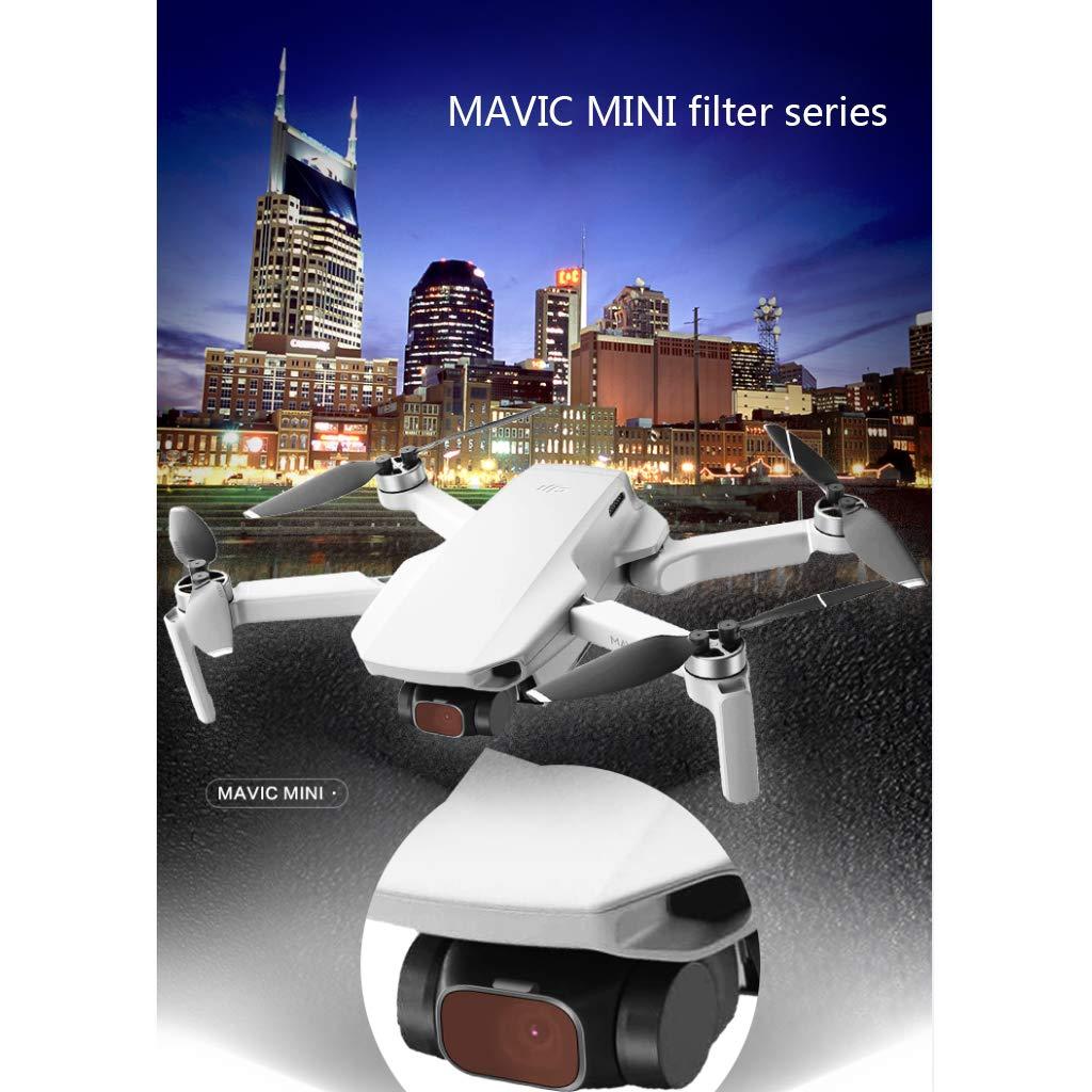 VAILANG Filtre de densit/é Neutre pour Filtre /à lentilles pour DJI Mavic Mini Drone ND4 ND8 ND16 ND32