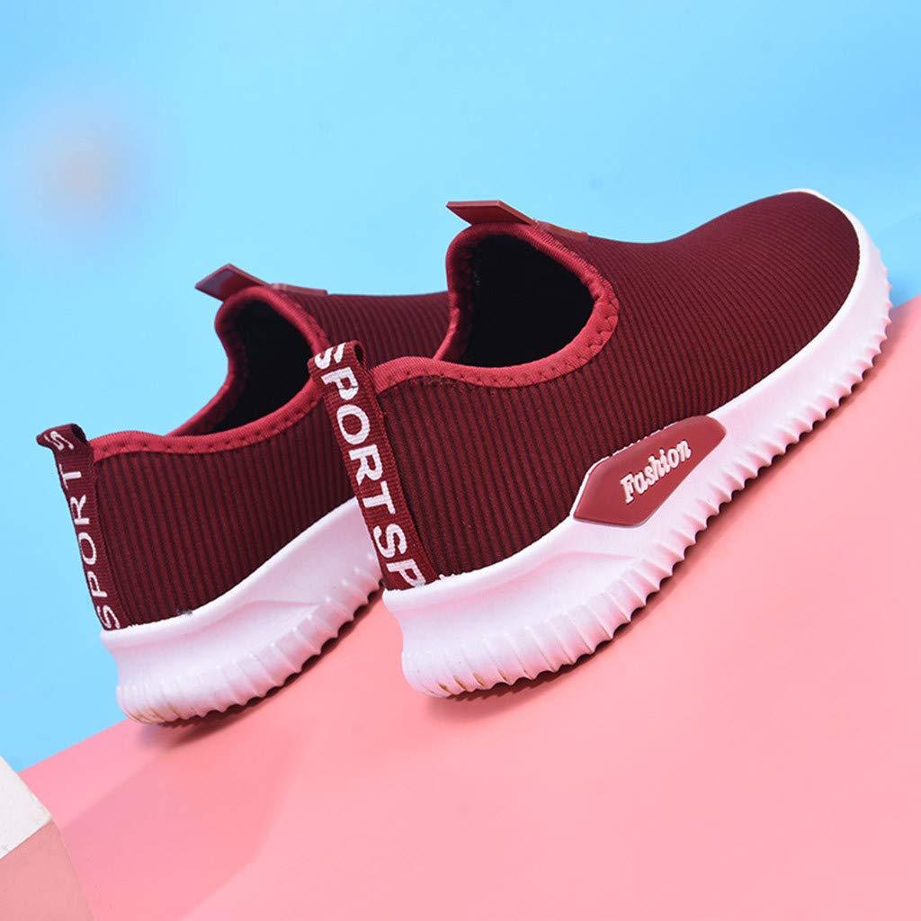 Leichte Walkingschuhe Bequem rutschfest Turnschuhe 36-40 EU Sneakers f/ür Frauen//Dorical Damen Loafers Sportschuhe Slip On Fitnessschuhe Atmungsaktiv Laufschuhe