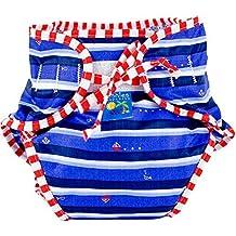 Kushies Baby Unisex Swim Diaper, Ahoy Print, Small