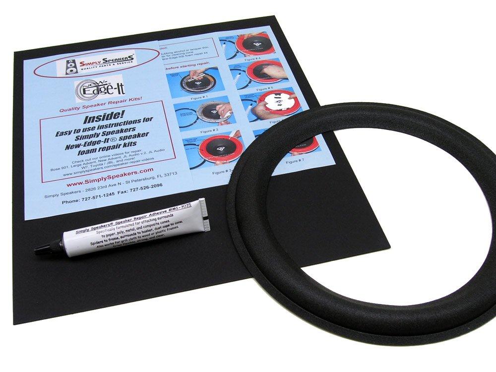 Boston Acoustics Speaker Foam Edge Repair Kit, 8'' Filled Fillet Foam, T-1030, HD-8, VR-960, FSK-828-1