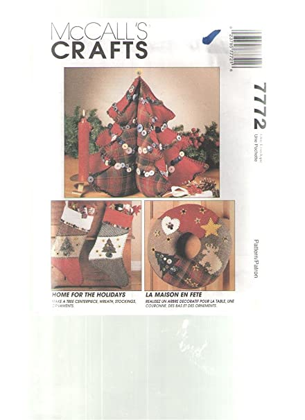 Amazon Com Home For The Holidays Mccalls Crafts Sewing Pattern