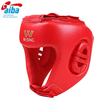 b66ceaa2a04ba wesing Professional Boxing Headgear Boxing Headguard for Competition ...