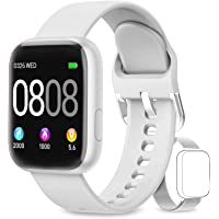 AIMIUVEI Smartwatch, Smart Watch Woman Man IP67 with Heart Rate Monitor, 1.4 Inch ...