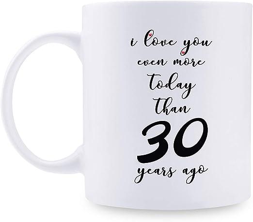 Amazon.com: Regalo de 30 aniversario – 30 aniversario de ...
