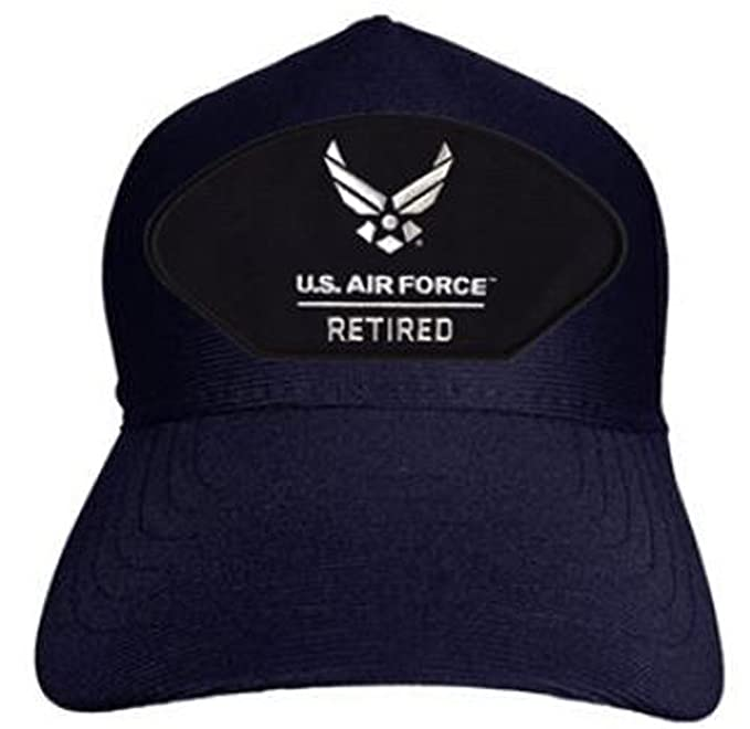 ae0452313f1dd Armed Forces Depot U.S. Air Force Retired Baseball Cap. Navy Blue ...