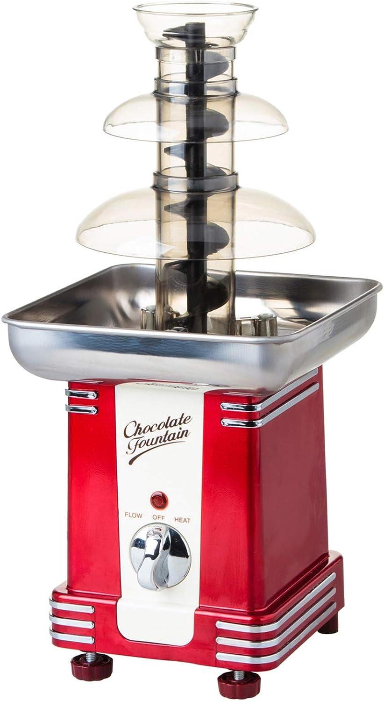 XIONGGG 3 Tiers Chocolate Fountain Fondue Mini Chocolate Waterfall Pretty Melting Machine for Home Birthday Wedding Christmas
