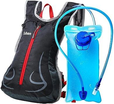 Starter Mochilas de Bicicleta Mochila de Riego Mochila Hombros Transpirable Exterior Viaje Running Mochila + Bolsa de Agua 2L Bolsa de Hidratación Pack Mochila con Bolsa de Agua: Amazon.es: Salud y cuidado