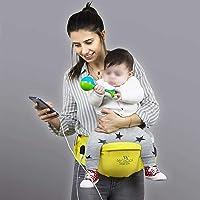 My Valice Carry Bel Destekli Ana Kucağı Bebek Taşıyıcı Kanguru Sarı
