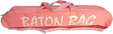 """MAJORETTE TWIRLING BATON BAG WITH SHOULDER STRAP 24/"""" PINK OR BLACK 32/"""" IN"""